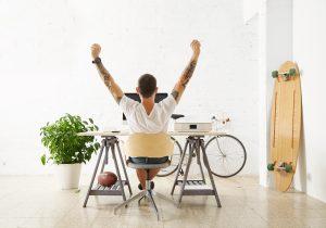 uomo vittoria freelance successo